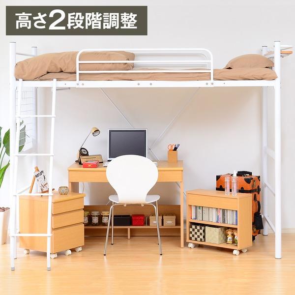 机付きロフトベッド